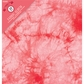"Colorbok Fabric 3 Ring Album 8.5""x11"" - Tie Dye Red"