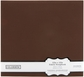 "Colorbok Fabric Albums 12""x12"" - Dark Brown"