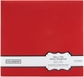 """Colorbok Fabric Albums 12""""x12"""" - Red"""