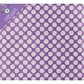 "Colorbok Glitter Post Bound Album 12""x12"" - Purple Dot"