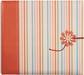 "Colorbok Postbound Album w/String Tie Closure 8""x8"" - Chipboard Flower"