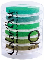 Colorbox Cat's Eye Queue Pigment Ink Pads - Rain Forest