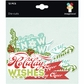 Colors Of Christmas Cardstock Die-Cuts - Phrases