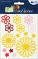ColorStories Embossed Stickers - Yellow Flowers