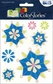 ColorStories Epoxy Stickers - Blue Snowflower