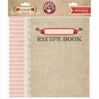"Cook Recipe Book Album 8""x8"" <font color=red><strong>50% OFF!!</strong></font>"