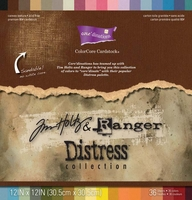 "Core'dinations Tim Holtz Distressed Cardstock 12""x12"""