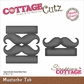 "CottageCutz Die 2""x1"" (Assembled) - Mustache Tab Made Easy"