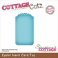 "CottageCutz Die 2""x3.5"" (Assembled) - Eyelet Insert Card/Tag Made Easy"