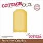 "CottageCutz Die 2""x3.5"" (Assembled) - Fancy Insert Card/Tag Made Easy"