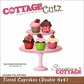 "CottageCutz Die 4""x4"" - 2 Piece Set Tiered Cupcakes"