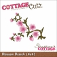 "CottageCutz Die 4""x4"" - Blossom Branch Made Easy"