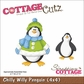 "CottageCutz Die 4""x4"" - Chilly Willy Penguin"