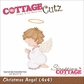 "CottageCutz Die 4""x4"" - Christmas Angel"