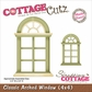 "CottageCutz Die 4""x4"" - Classic Arched Window Made Easy"
