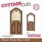 "CottageCutz Die 4""x4"" - Classic Ornate Door Made Easy"