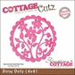 "CottageCutz Die 4""x4""- Daisy Doily Made Easy"