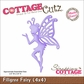 "CottageCutz Die 4""x4"" - Filigree Fairy Made Easy"