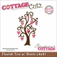 "CottageCutz Die 4""x4"" - Flourish Tree Made Easy"