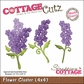"CottageCutz Die 4""x4""- Flower Cluster Made Easy"
