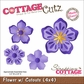 "CottageCutz Die 4""x4"" - Flower With Cut-Outs Made Easy"