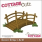 "CottageCutz Die 4""x4"" - Garden Bridge"