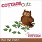 "CottageCutz Die 4""x4"" - Hoot Owl"
