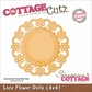 "CottageCutz Die 4""x4"" - Lace Flower Doily"