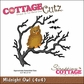 "CottageCutz Die 4""x4"" - Midnight Owl"