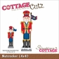 "CottageCutz Die 4""x4"" - Nutcracker"