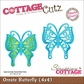 "CottageCutz Die 4""x4"" - Ornate Butterfly Made Easy"