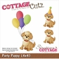 "CottageCutz Die 4""x4"" - Party Puppy"