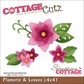 "CottageCutz Die 4""x4"" - Plumeria & Leaves"