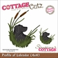 "CottageCutz Die 4""x4"" - Profile Of Labrador Made Easy"