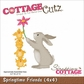 "CottageCutz Die 4""x4"" - Springtime Friends"