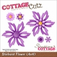 "CottageCutz Die 4""x4"" - Starburst Flower"