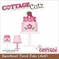 "CottageCutz Die 4""x4"" - Sweet Tiered Cake"