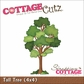 "CottageCutz Die 4""x4"" - Tall Tree"