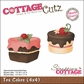 "CottageCutz Die 4""x4""- Tea Cakes Made Easy"