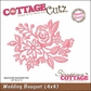 "CottageCutz Die 4""x4"" - Wedding Bouquet Made Easy"