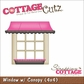 "CottageCutz Die 4""x4"" - Window With Canopy"