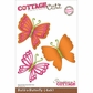 "CottageCutz Die 4""x6"" - Build - A - Butterfly"