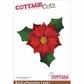 "CottageCutz Die 4""x6"" - Build - A - Poinsettia"