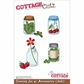"CottageCutz Die 4""x6"" - Canning Jar With Accessories"