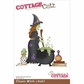 "CottageCutz Die 4""x6"" - Classic Witch"