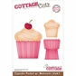 "CottageCutz Die 4""x6"" - Cupcake Pocket & Notecard Made Easy"