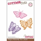 "CottageCutz Die 4""x6"" - Filigree Butterfly Trio Made Easy"