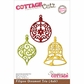 "CottageCutz Die 4""x6"" - Filigree Ornament Trio"