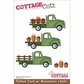 "CottageCutz Die 4""x6"" - Flatbed Truck With Accessories"