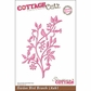 "CottageCutz Die 4""x6"" - Garden Bird Branch Made Easy"
